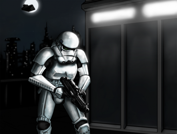 Stormtrooper at Night