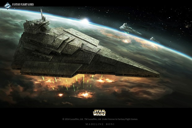 Victory Class II Star Destroyer