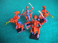 Tyranids from the past with Boneswords pic 2