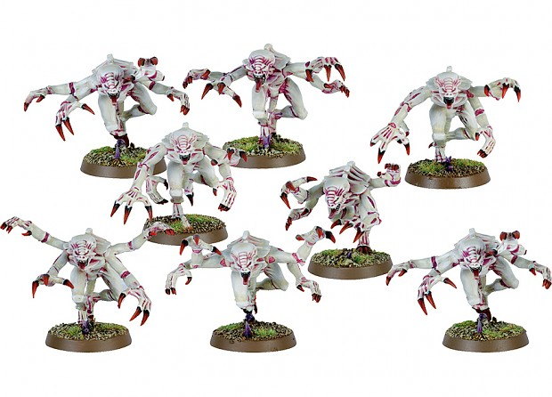 Red White Tyranids