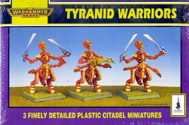 Tyranids from the past with Boneswords pic 1