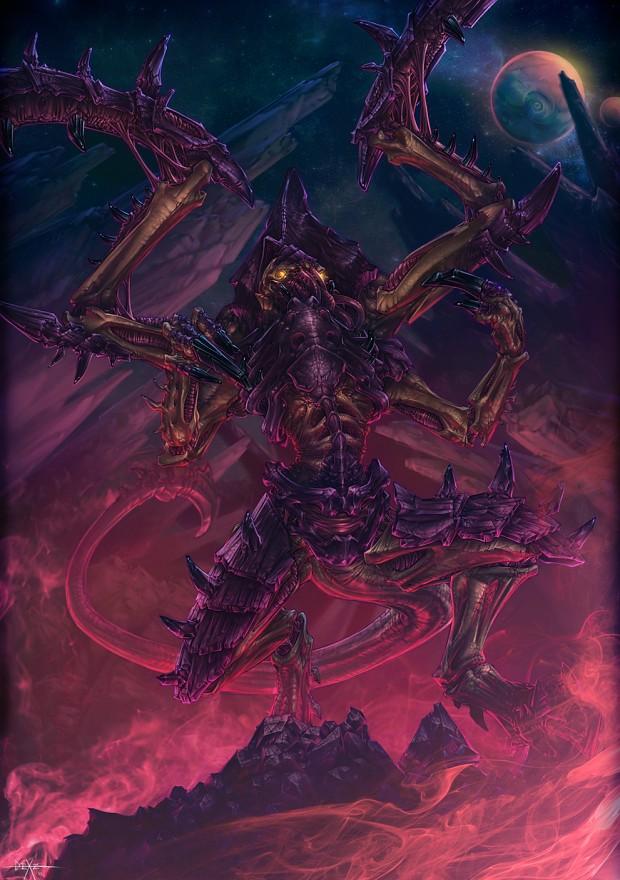 Lictor Image - Warhammer 40k Tyranids Group