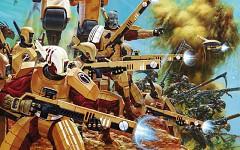 Tau Army Attack
