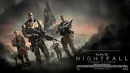 Halo Nightfall - New tv show  poster