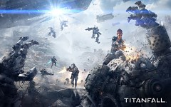 Titanfall battle wallpaper