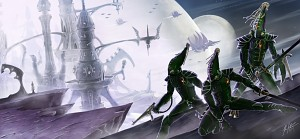 Eldar protecting