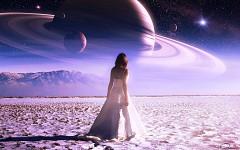 Science fiction fantasy wallpaper