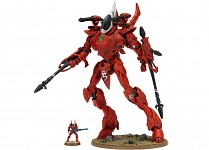 eldar wraithknight model