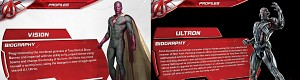 Vision and Ultron biography