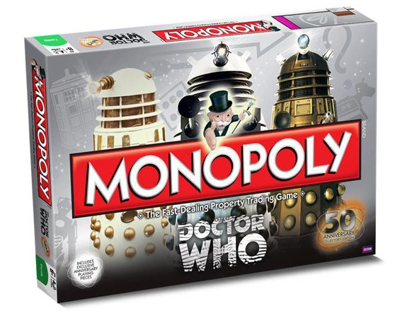Dalekpoly the new table-top game for us! =D =P XD