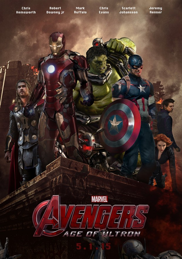 Avengers - age of Ultron - movie 2015 poster