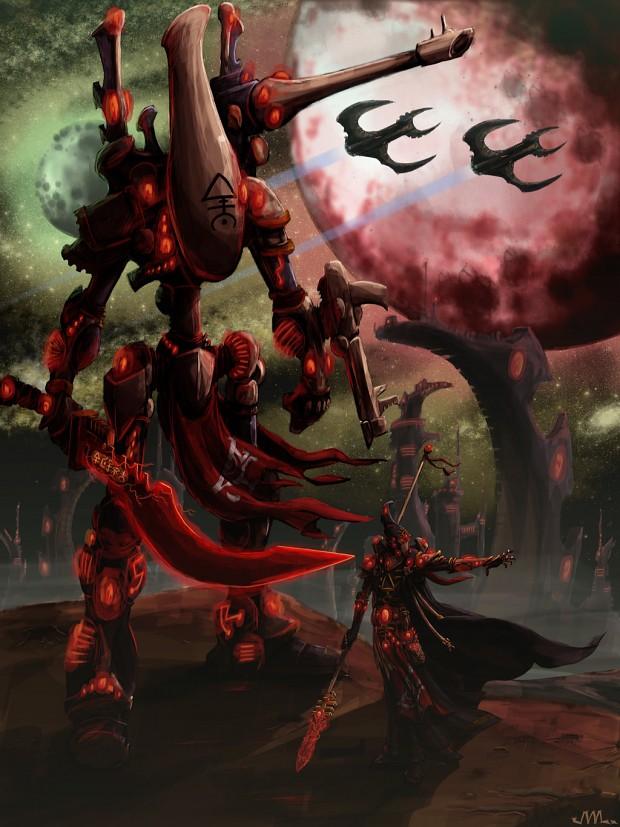 Lock and loaded Eldar - warhammer40k