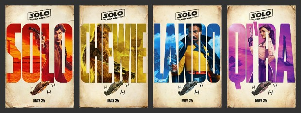 Solo A Star Wars Story - Name them all