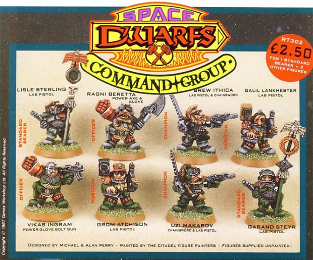 space dwarfs command group