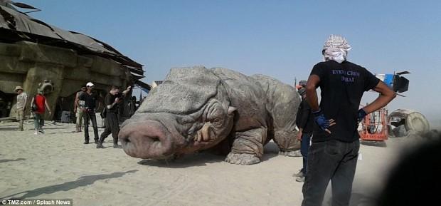 Star wars 7 Alien pig picture