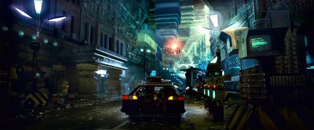 Blade Runner 2049 - screenshot city