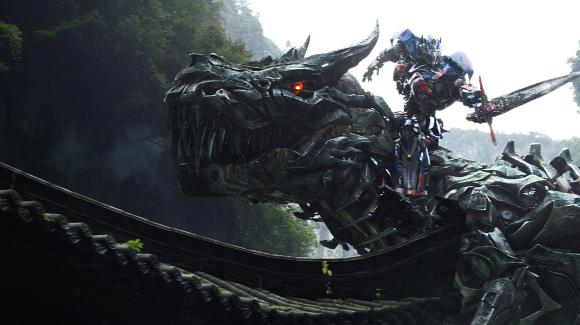 Transformers 4 movie - Dinobot optimus prime