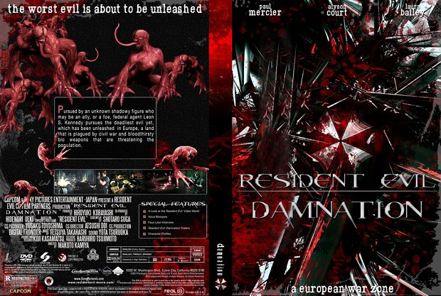 resident evil damnation  anime
