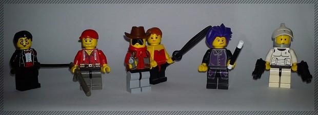 More JSSG LEGO