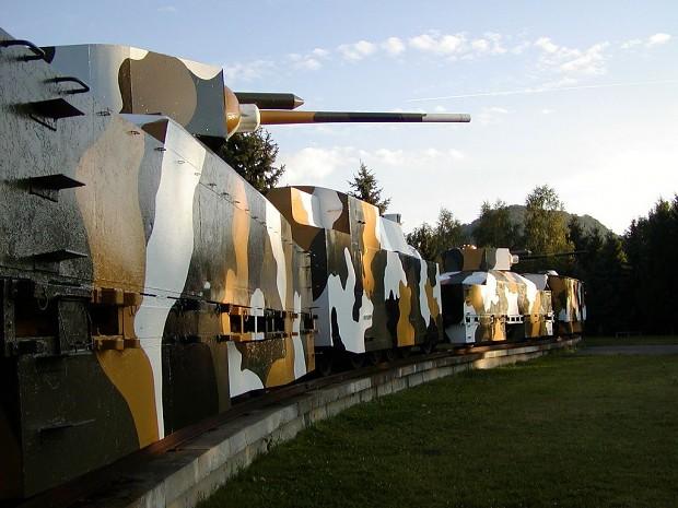 Armored train Hurban