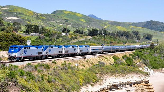 random Amtrak locos