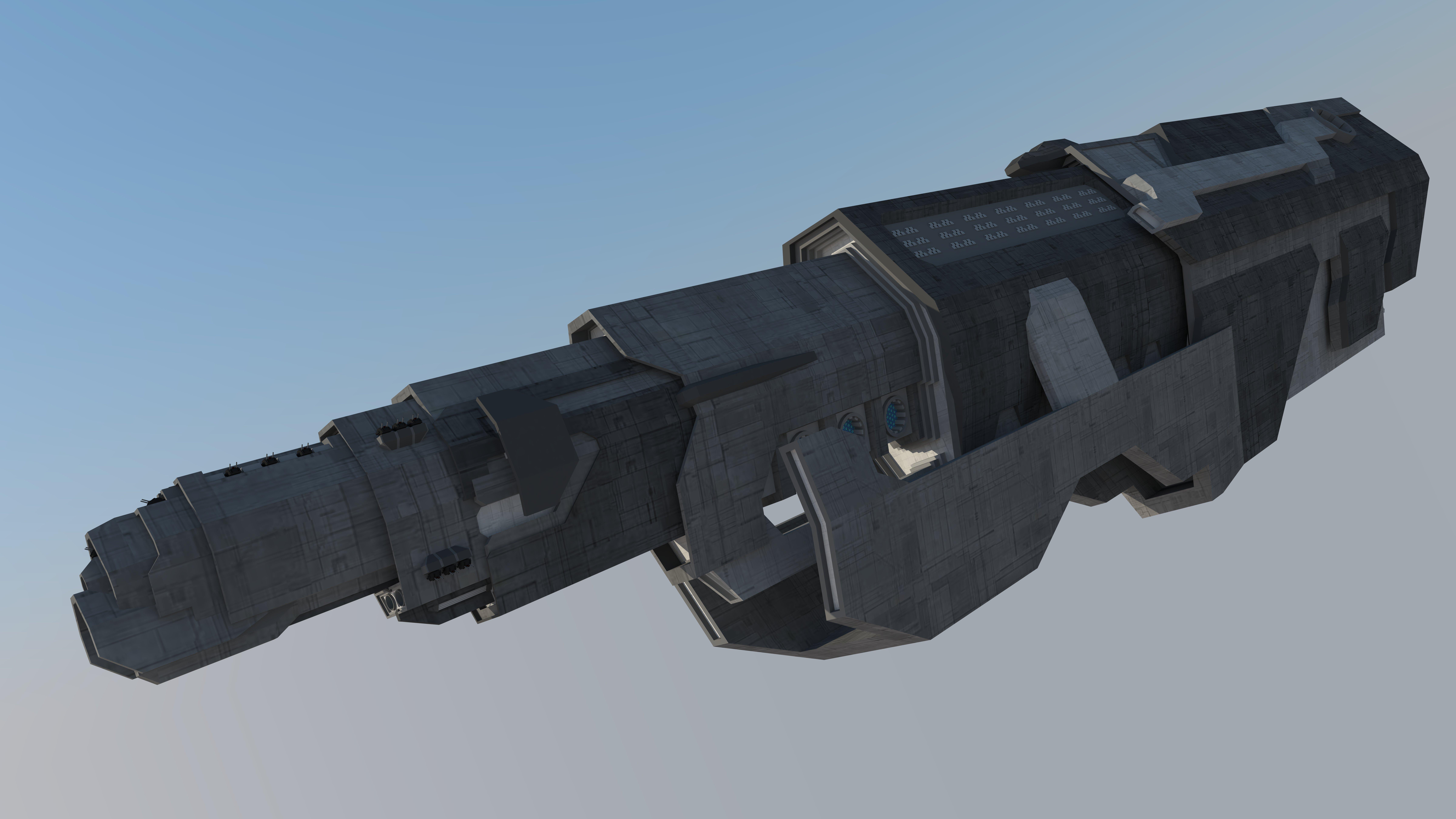 terran Atlas class dreadnaught