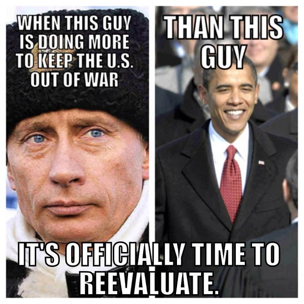 Syria: Russia vs USA