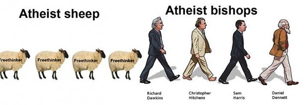 Is atheism really free-thought?