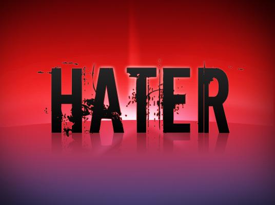 "The Anti-""Hater"" Brigade"
