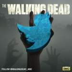 Follow The Walking Dead on Twitter!