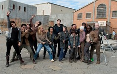 Some TWD behind the scenes fun.