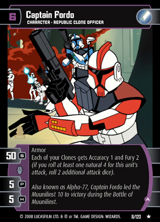 Captain Fordo Trading Card