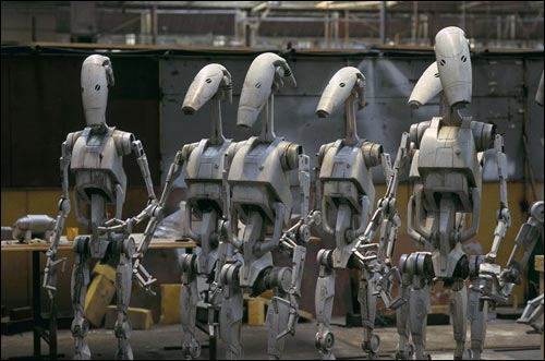 B1 Battle Droids Image Clone Wars Multi Media Project