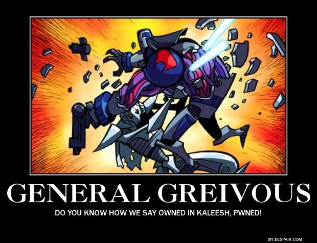 Moar Grievous image - -Clone Wars Multi-Media Project Fans