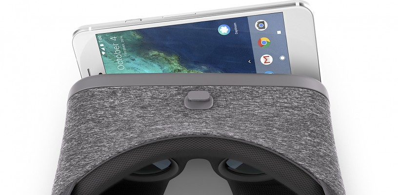 Google Daydream View and Pixel
