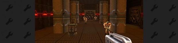 Quake 4 in Quake 2