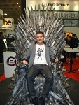 I've claimed the iron throne @ GDC 2012