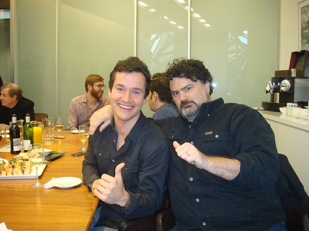 Lunch with Tim Schafer
