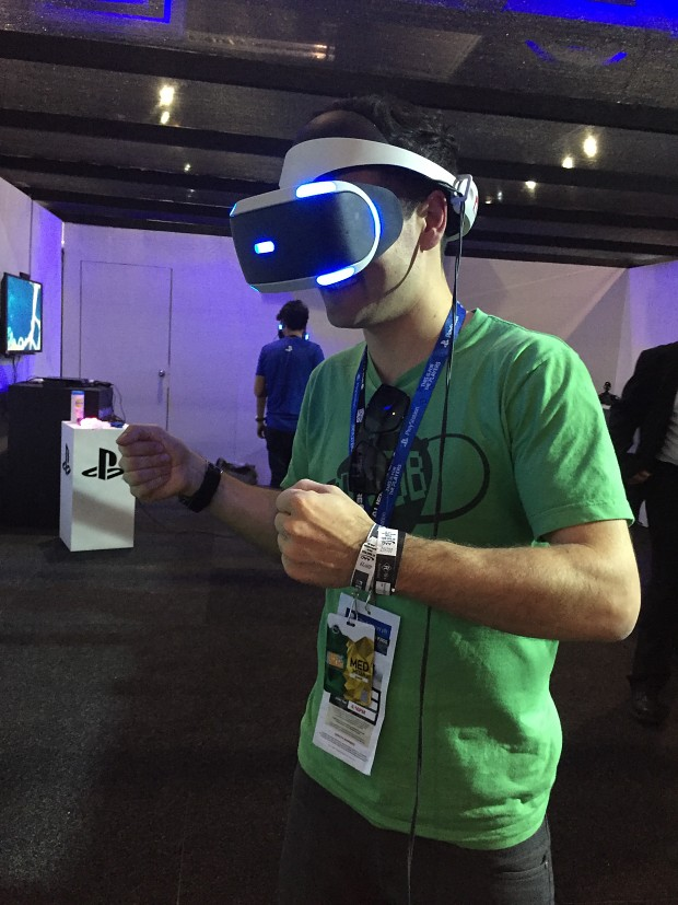 PAX Aus trying out PSVR