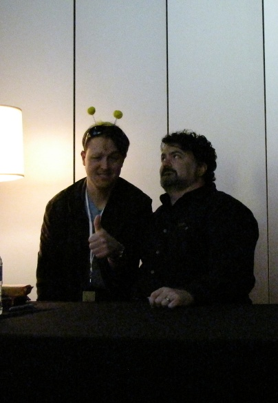 Me with Tim Schafer