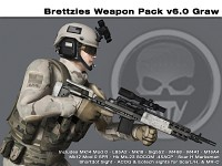 Weapon Pack v6.0 - GRAW