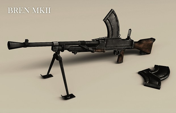 Bren Gun Mk2 - For the 'Traction Wars' mod