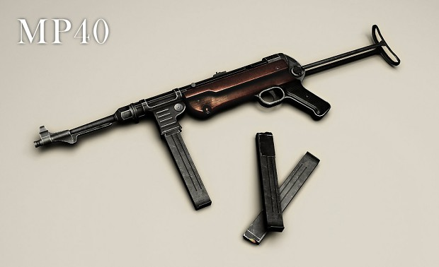 MP40 - For the 'Traction Wars' mod