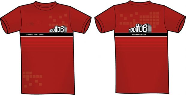 Red ModDB shirt
