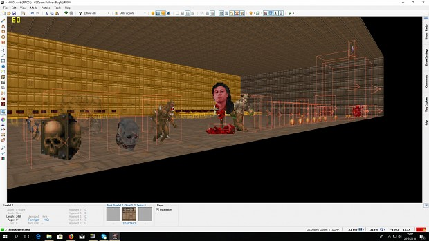 test enemies Doom 2