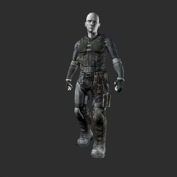 conceptual suit texture