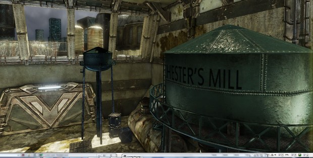 chester's mill watertower UDK