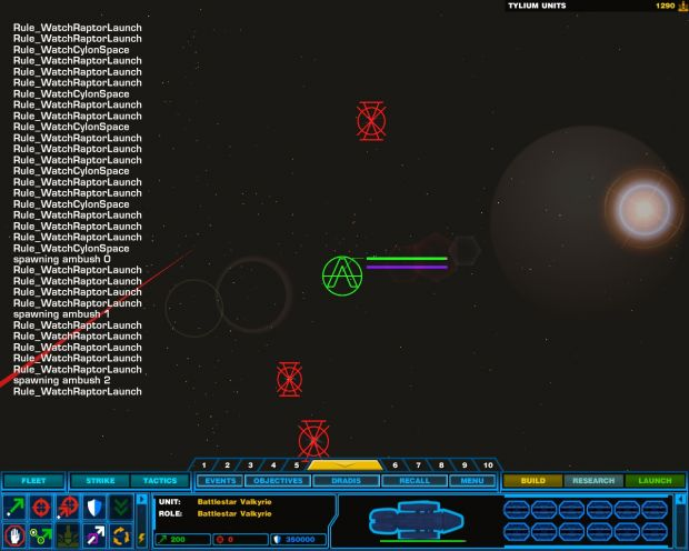 Homeworld 2 In Game Debug Messages