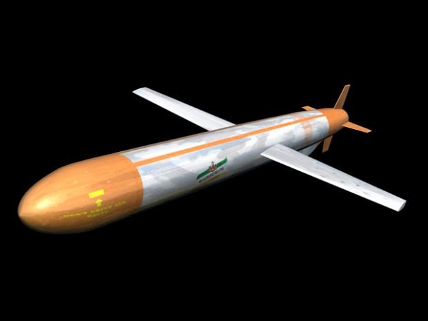 """Ver""""Kümmerte"""" Cruise Missile"""