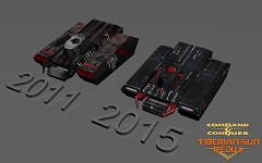 Nod Ticktank 2011 vs 2015 texture